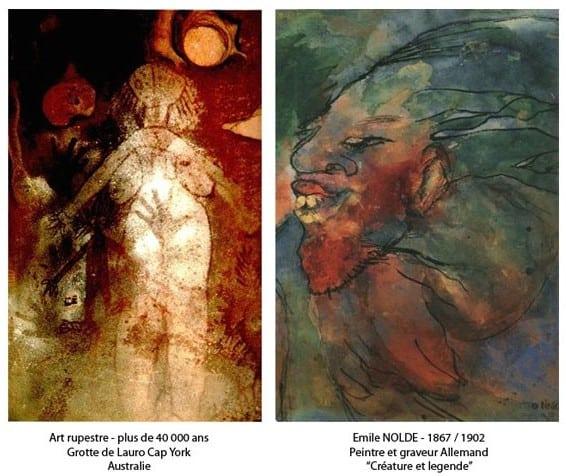De ces deux œuvres, qu'elle est la plus contemporaine ?
