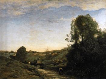 Camille COROT - Souvenir de Marcoussis - Musée d'Orsay