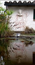 2011 Cybèle en ce miroir (Peinture murale)