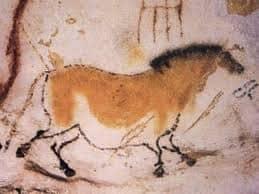 Grotte de LASCAUX: le cheval de la Préhistoire