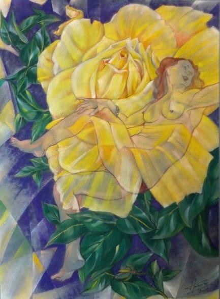 2012-RUBENS, toujours à fleur de peau (Pastel)